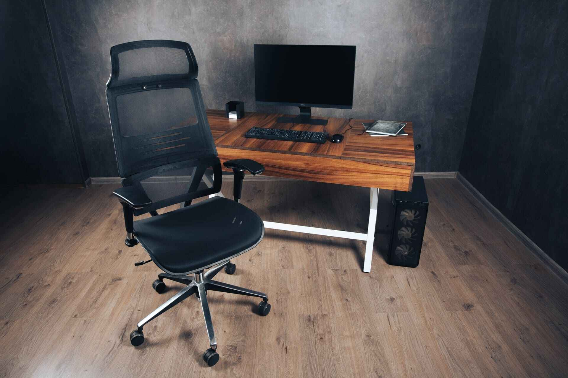 сеточное компьютерное кресло черное купить