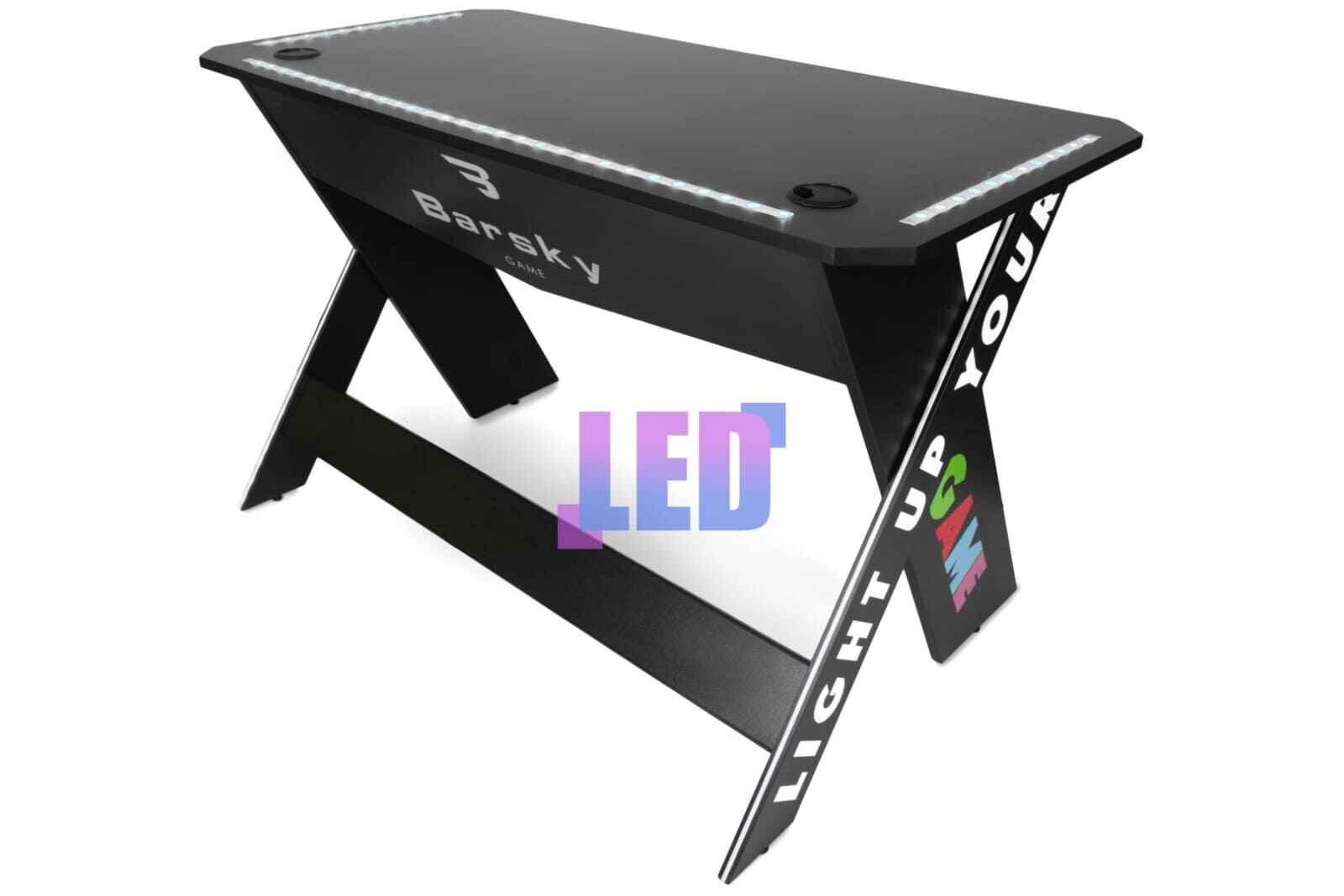 стол геймерский с подстветкой стола