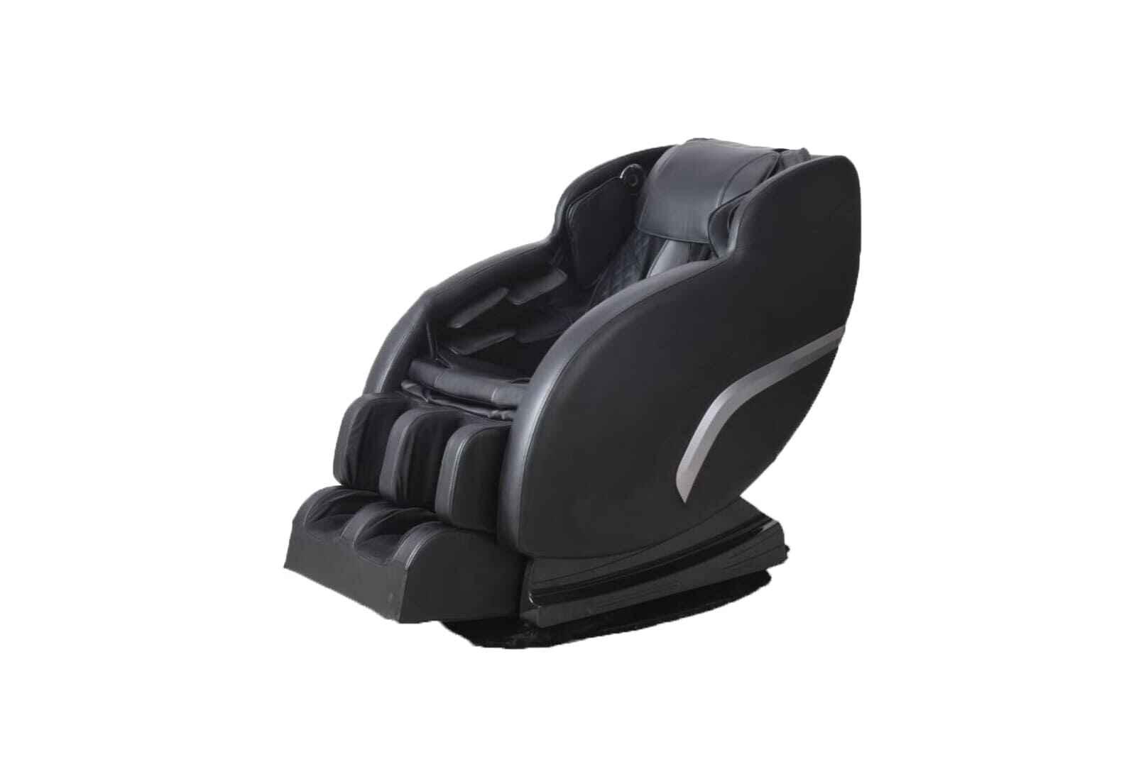 массажное большое черное кресло