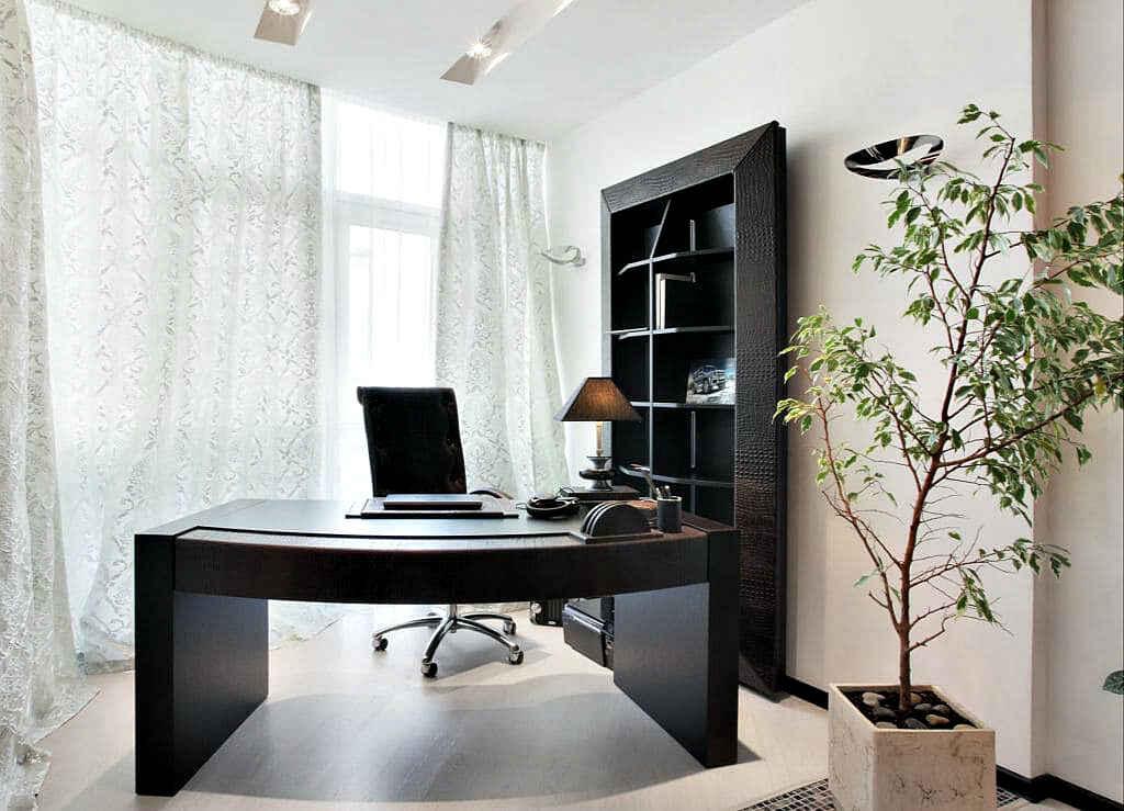светлый офис