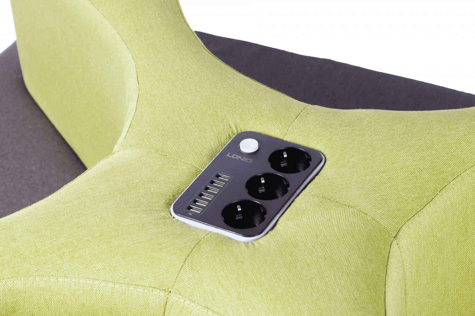 диван с внутренней зарядкой