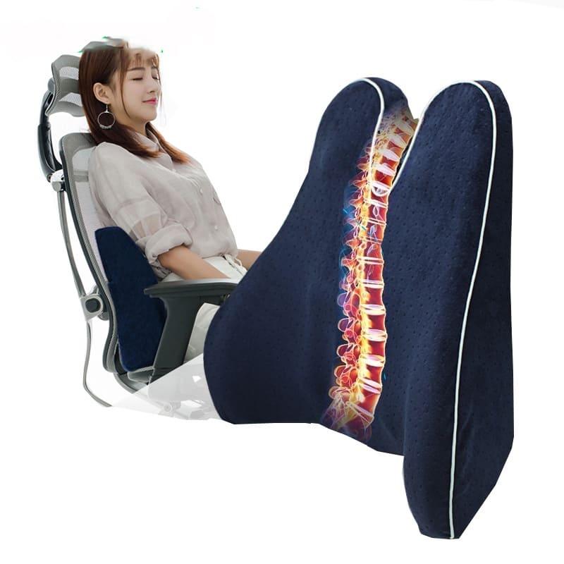 ортопедическая подушка для спины в кресле