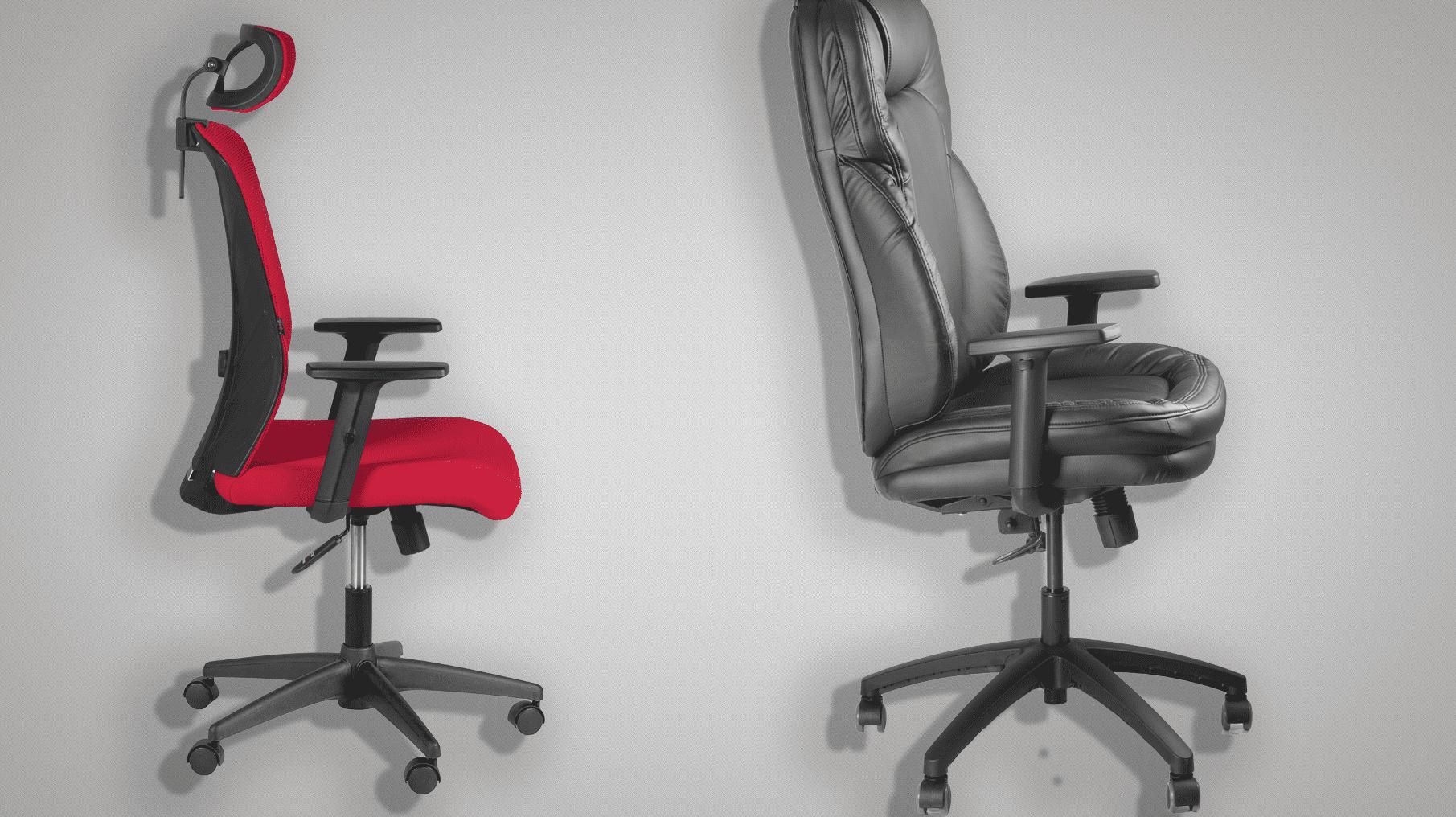 как устроено офисное кресло
