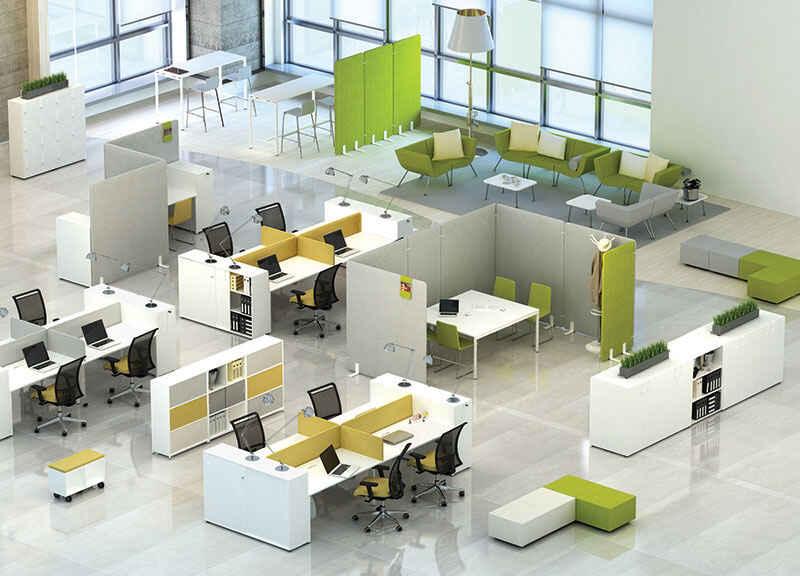 офис для 4 человек