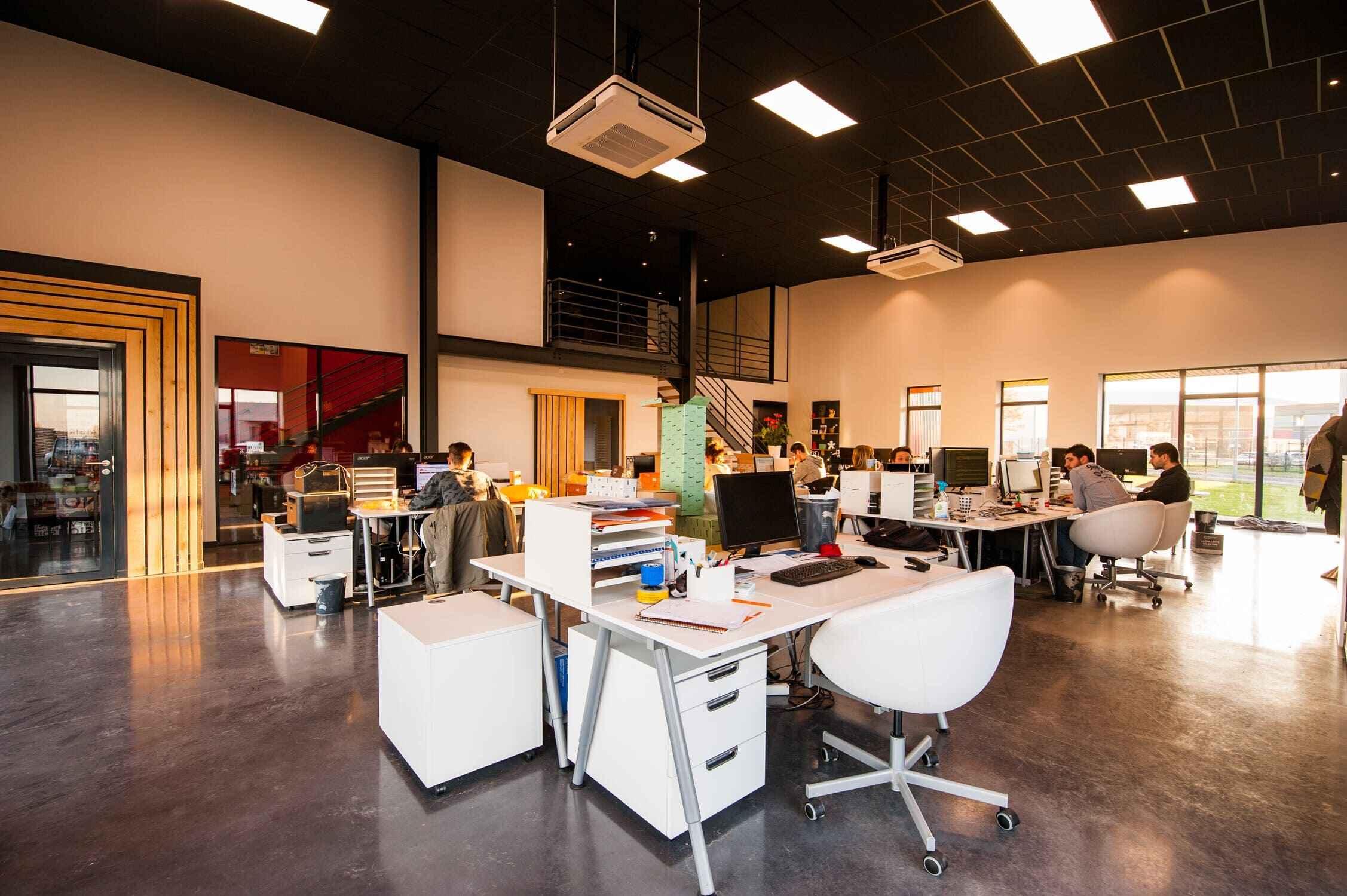 большой офис ремонт